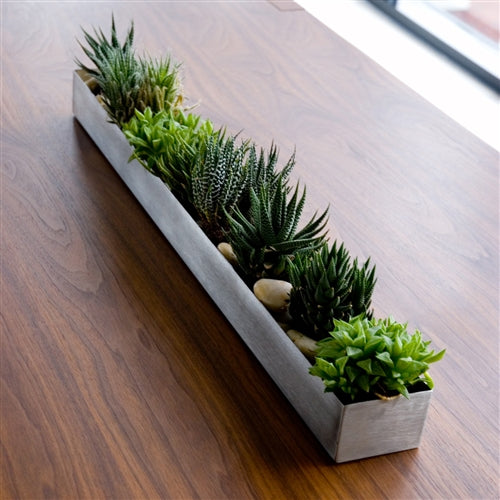 Stainless Steel Planter / Fruit Trough