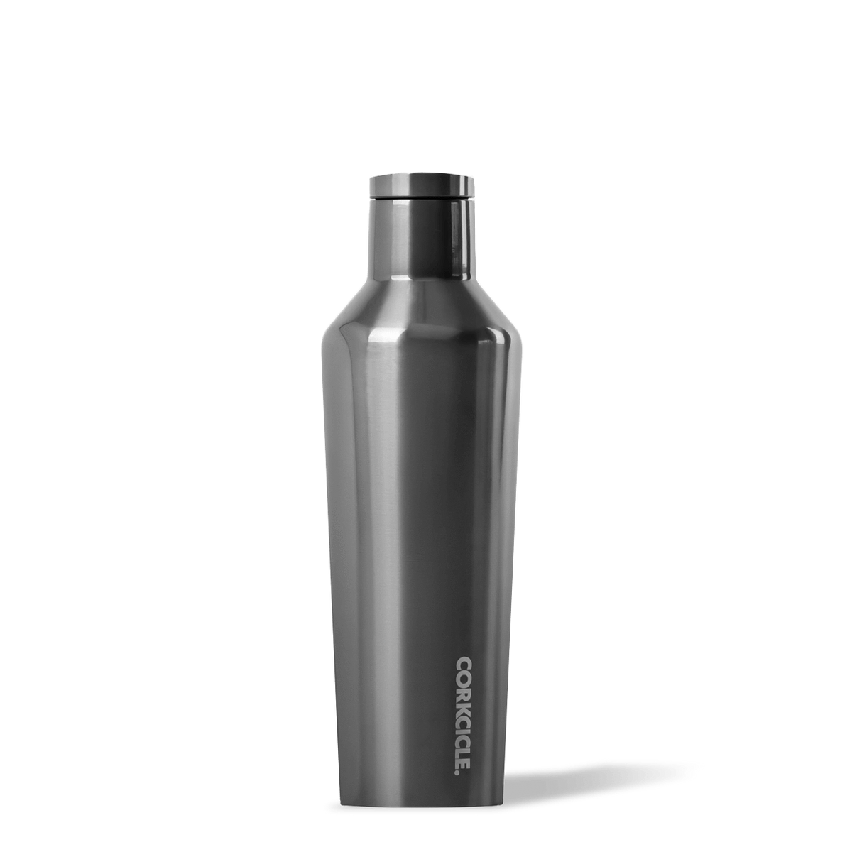 Insulated Water Bottle 16 oz Gunmetal