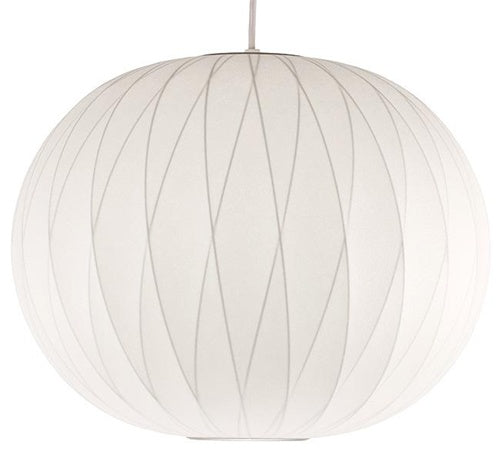 nelson bubble lamp - criss cross ball pendant medium
