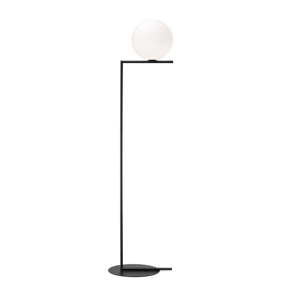 IC Lights F Black - Dimmable Floor Lamp