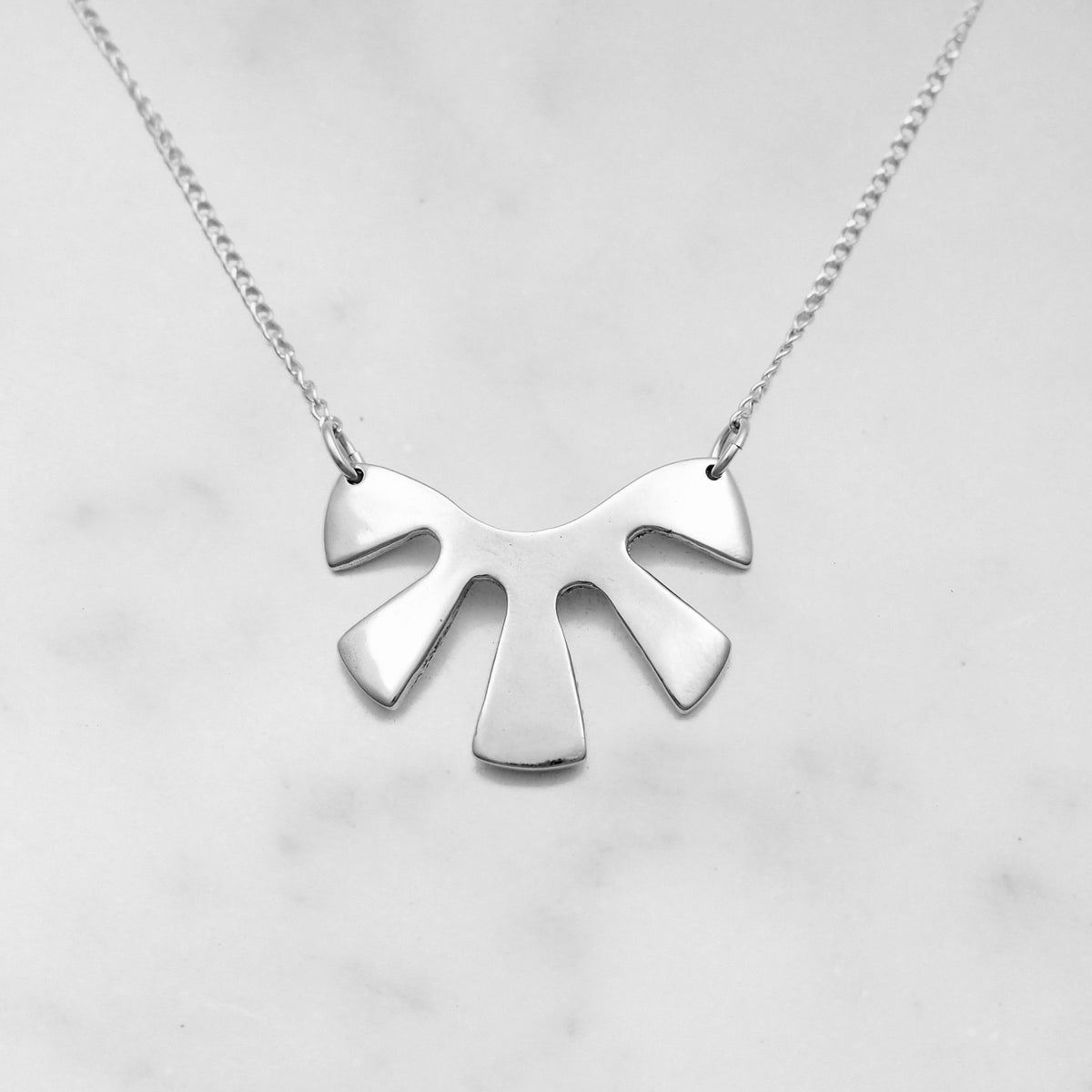 Sol Necklace - Sterling Silver
