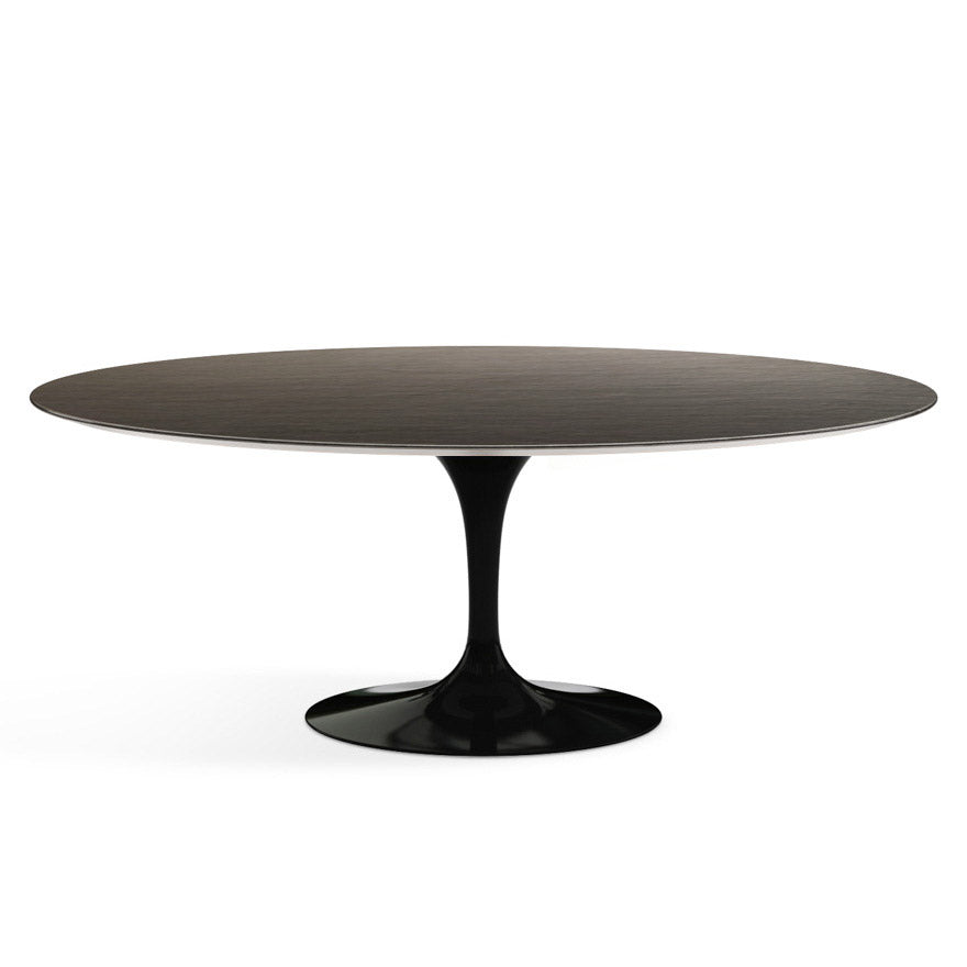 "Saarinen Outdoor 78"" Oval Dining Table Slate Top"