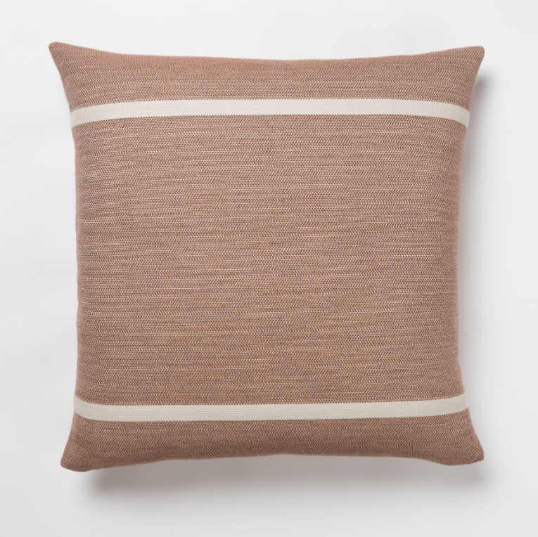 Pilar Terracotta Outdoor Pillow - 22""