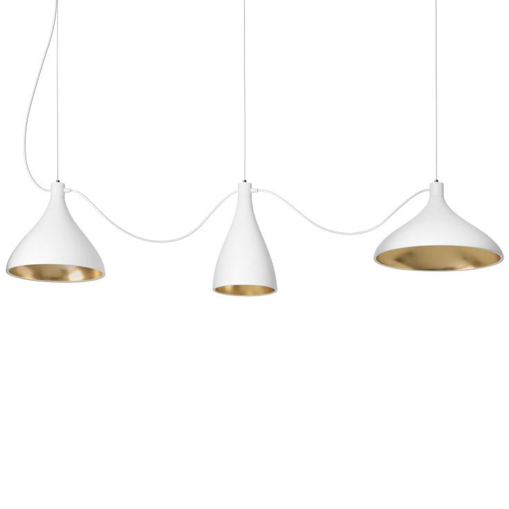 Swell String 3 Mixed Sizes Pendant Lamp