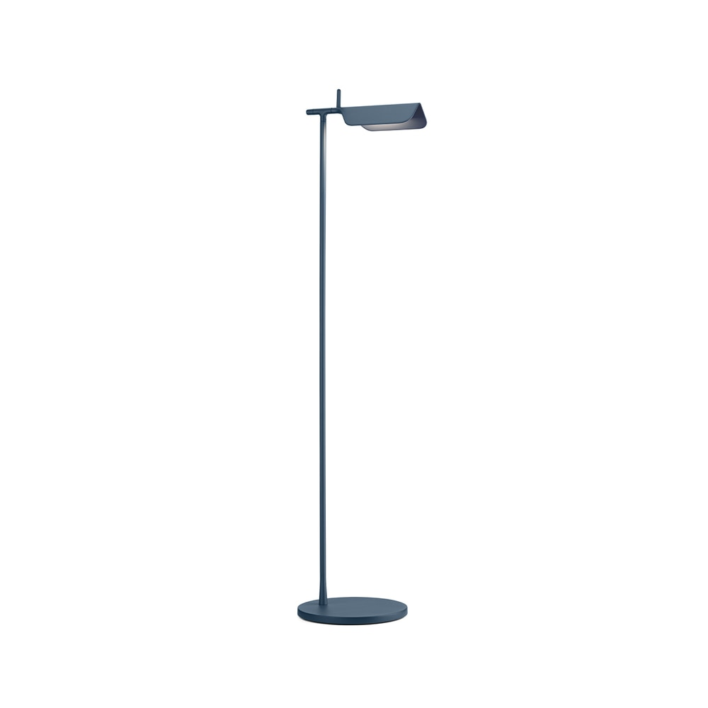 Tab Floor LED Lamp 90° Rotatable Head in Matte Blue & Dark Green - New Edition