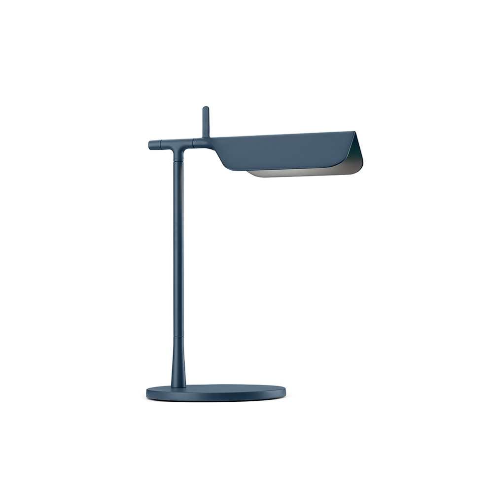 Tab Table LED Lamp 90° Rotatable Head in Matte Blue & Dark Green - New Edition