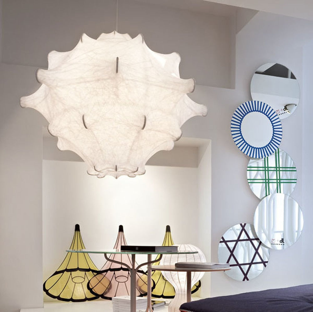 Taraxacum - Dimmable Pendant with Cocoon Material