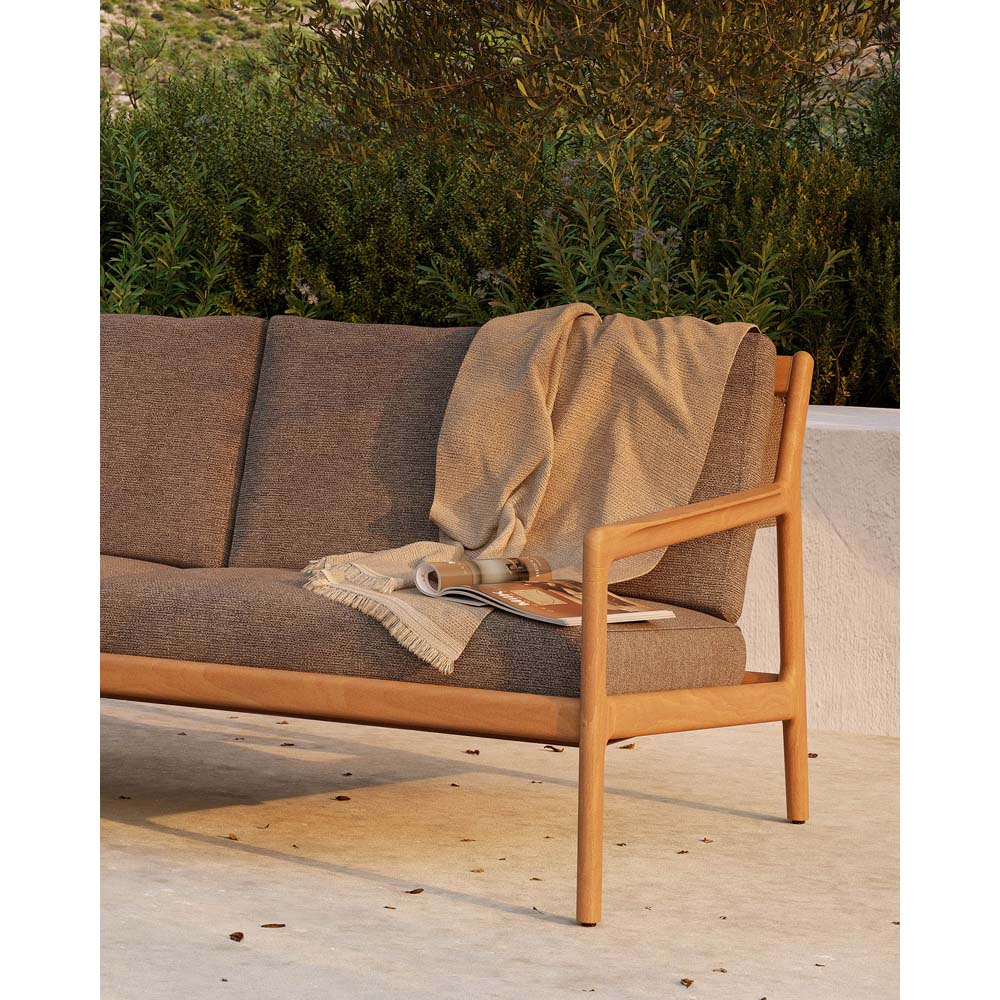 Teak Jack Outdoor Sofa
