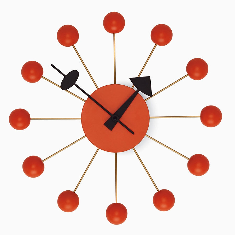 nelson ball clock orange