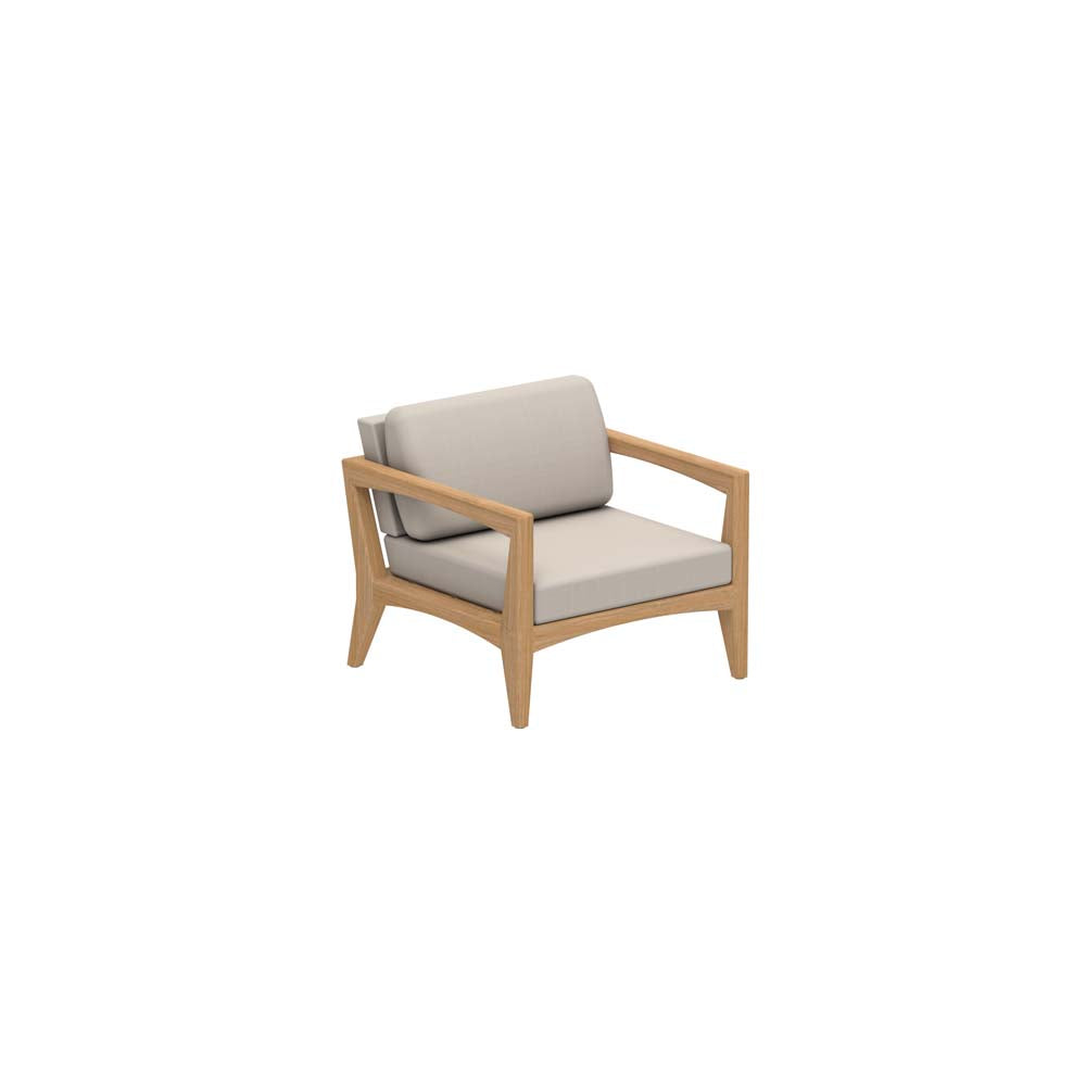 Zenhit Lounge One Seater - Teak