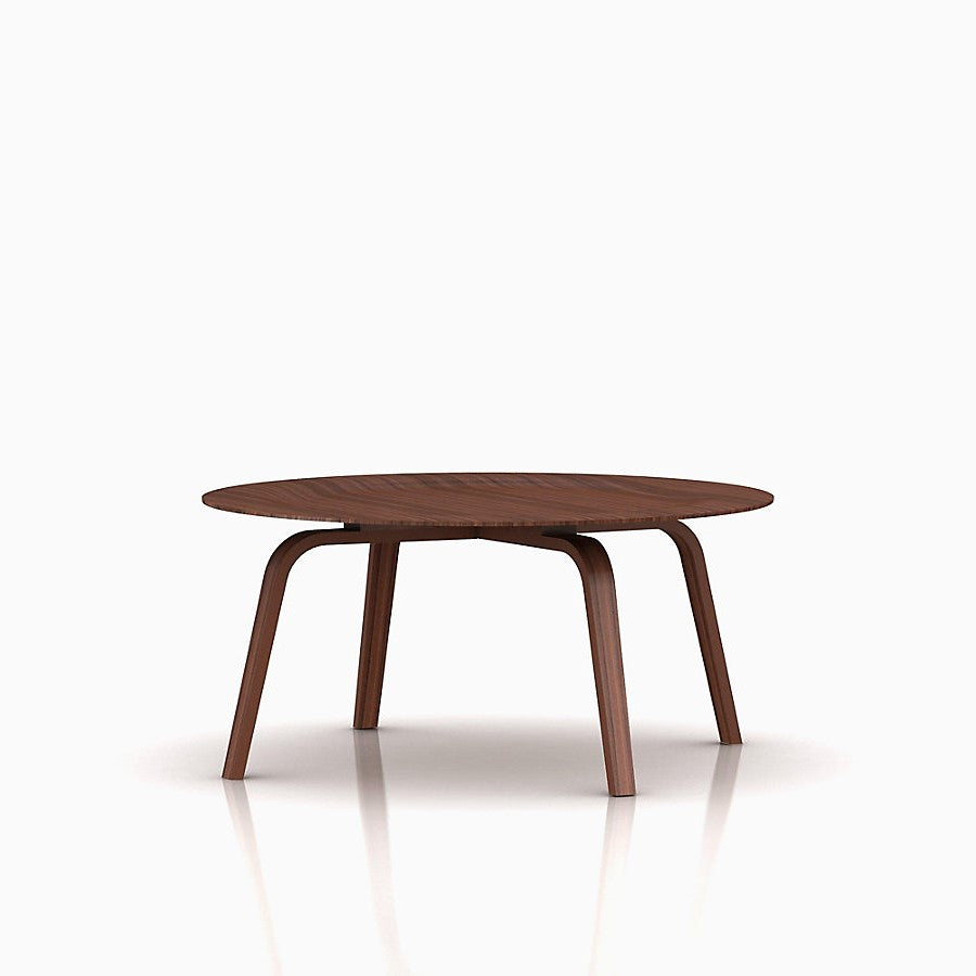 Eames Molded Plywood Coffee Table Wood Base