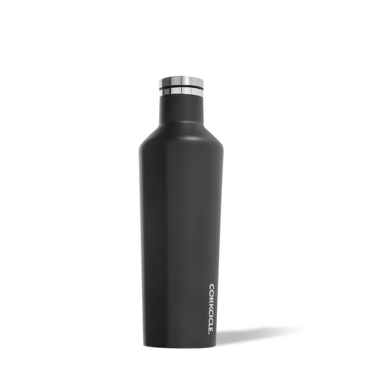 Insulated Water Bottle 16 oz Matte Black