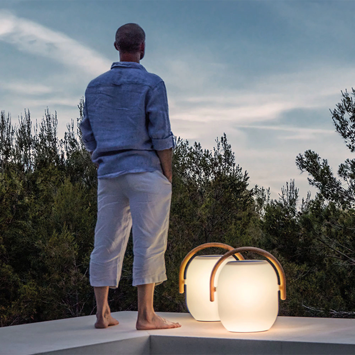 Ambient Cocoon Outdoor Light