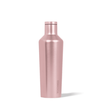 Insulated Water Bottle 16 oz Rose Metallic