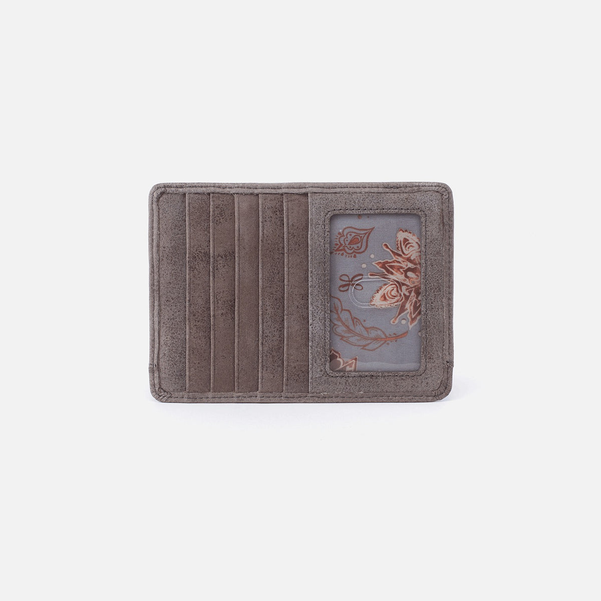 Euro Slide Credit Card Wallet - Metallic Titanium