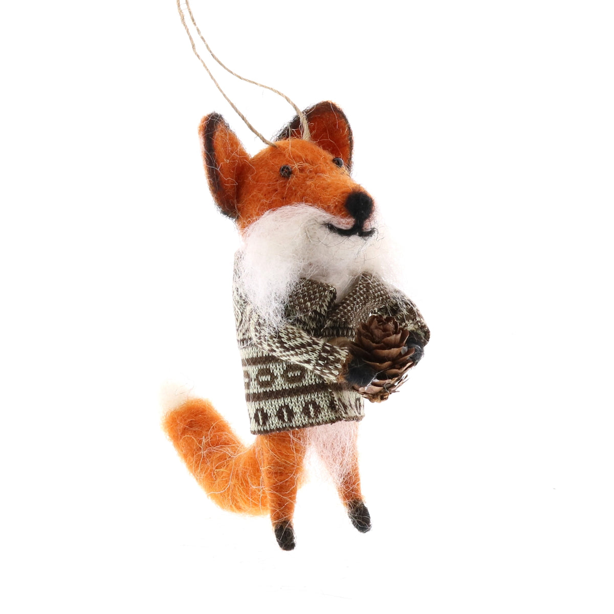 FELT FOX WITH BUNDLE