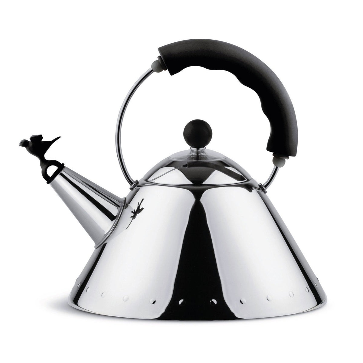 Michael Graves Tea Kettle with Black Handle