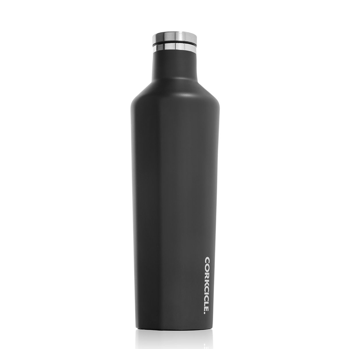 Insulated Water Bottle 25 oz Matte Black