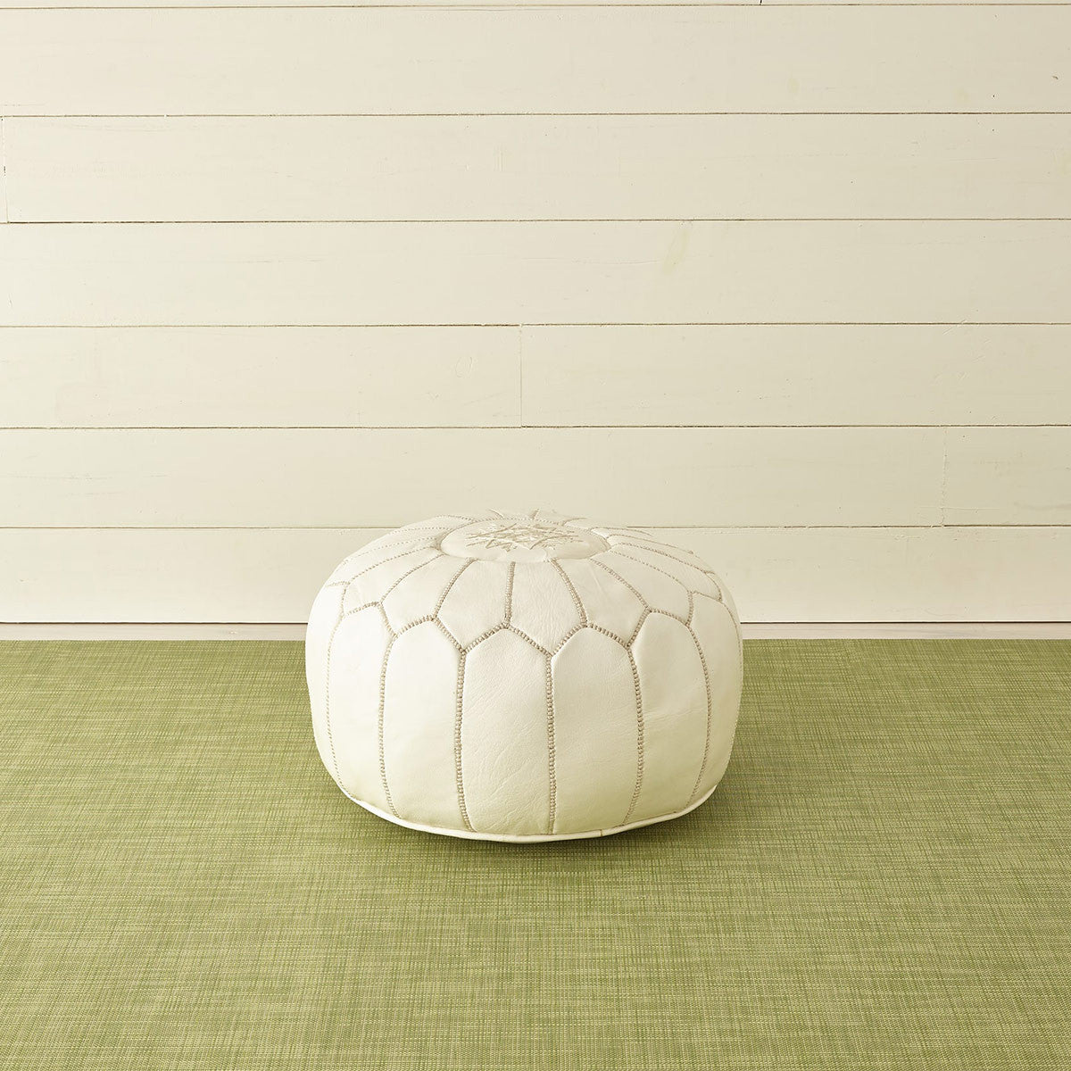 Mini Basketweave Floor Mat in Dill