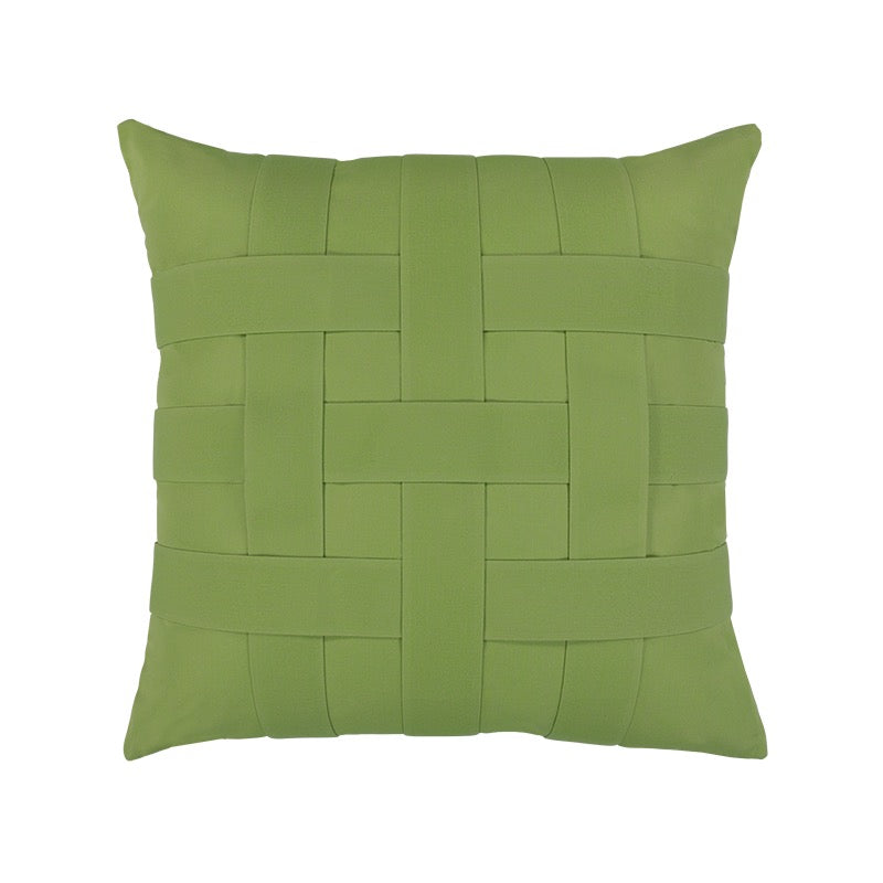 Basketweave Indoor/Outdoor Pillows 20""