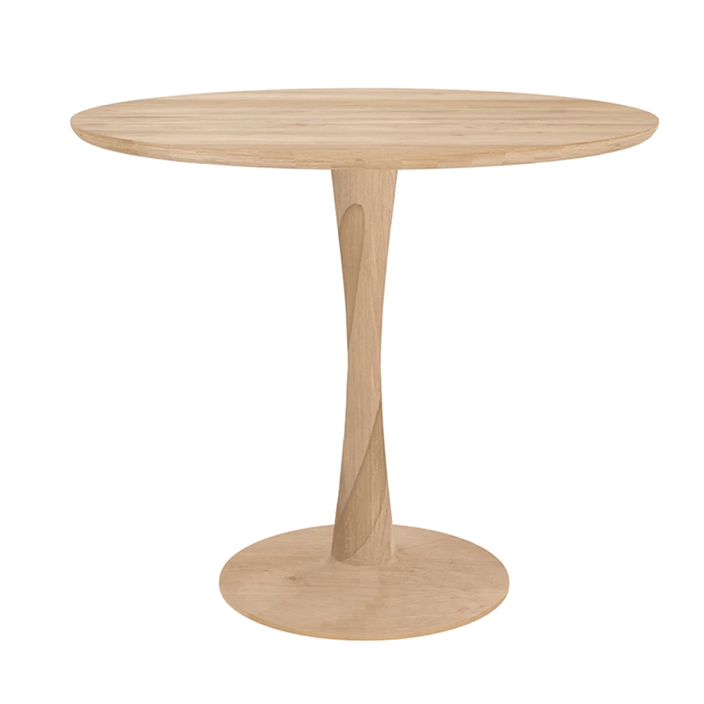 Oak Torsion Dining Table