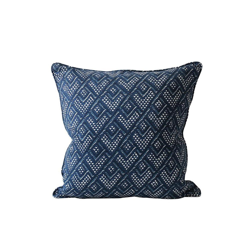 Panama Denim Pillow - 20""