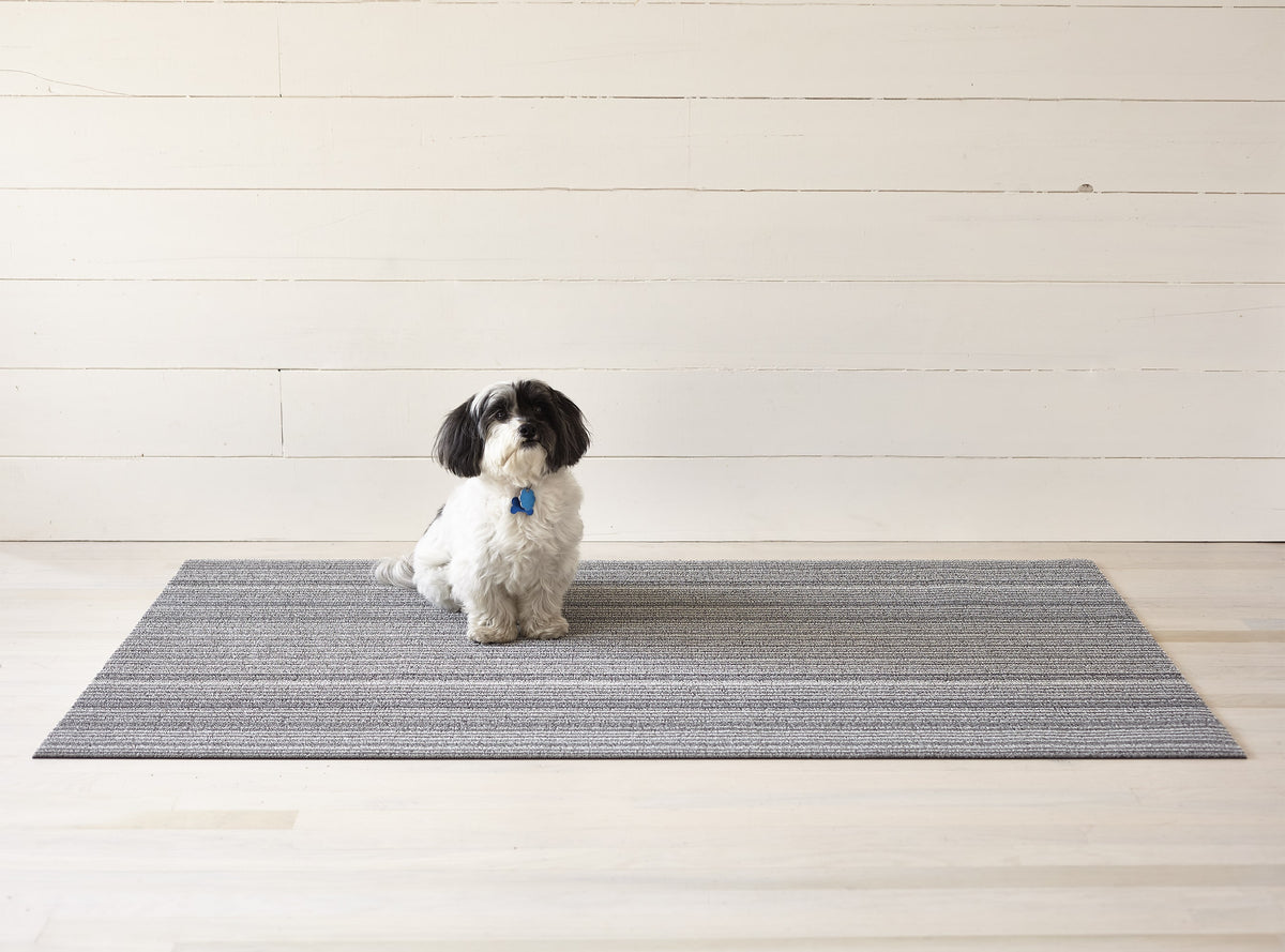 Shag Mat Skinny Stripe Shadow