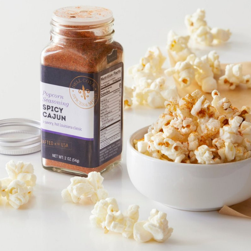 Spicy Cajun Popcorn Seasoning