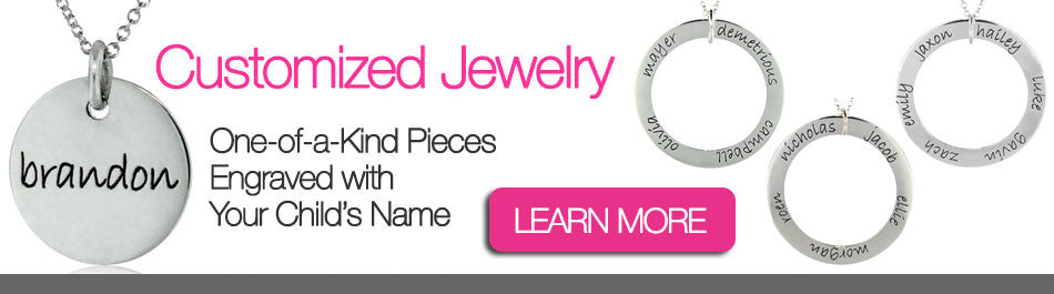Customized Jewelry for Moms