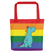 Load image into Gallery viewer, rainbow t-rex v2