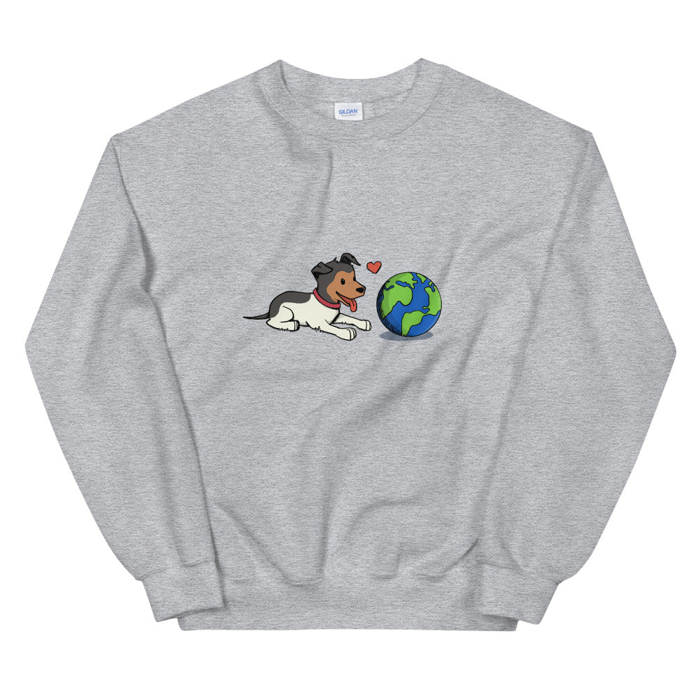 Buddy and the Earth Sweatshirt