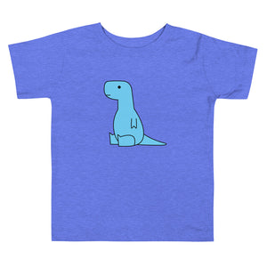 sitting blue t-rex (toddler)