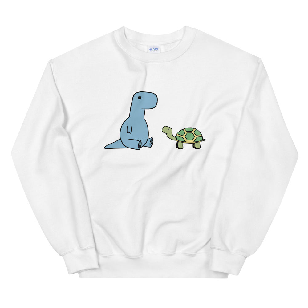 t-rex + turtle friends 3D