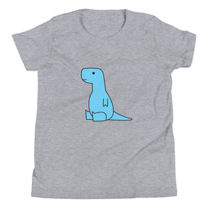 sitting blue t-rex (youth)