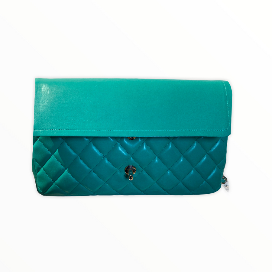 Chanel Jumbo Flapbag in Mint / Special Edition