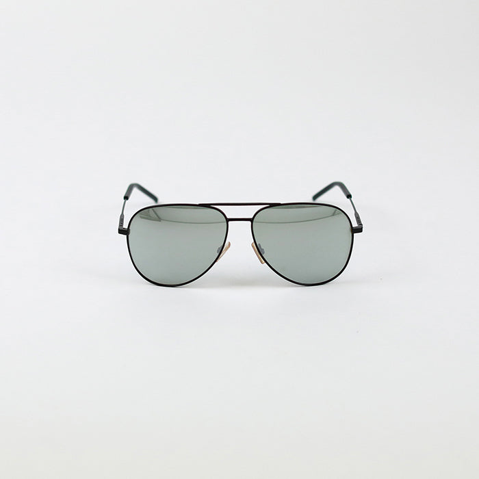 SAINT LAURENT Aviator Style Metal Sunglasses