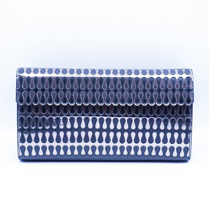 ALAÏA Laser-Cut Evening Clutch Bag