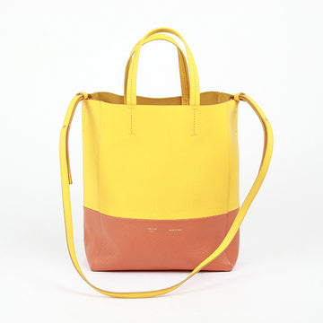 CELINE Small Two-Tone Cabas Bag