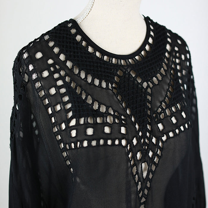 ISABEL MARANT ÉTOILE Ethan Embroidered Blouse