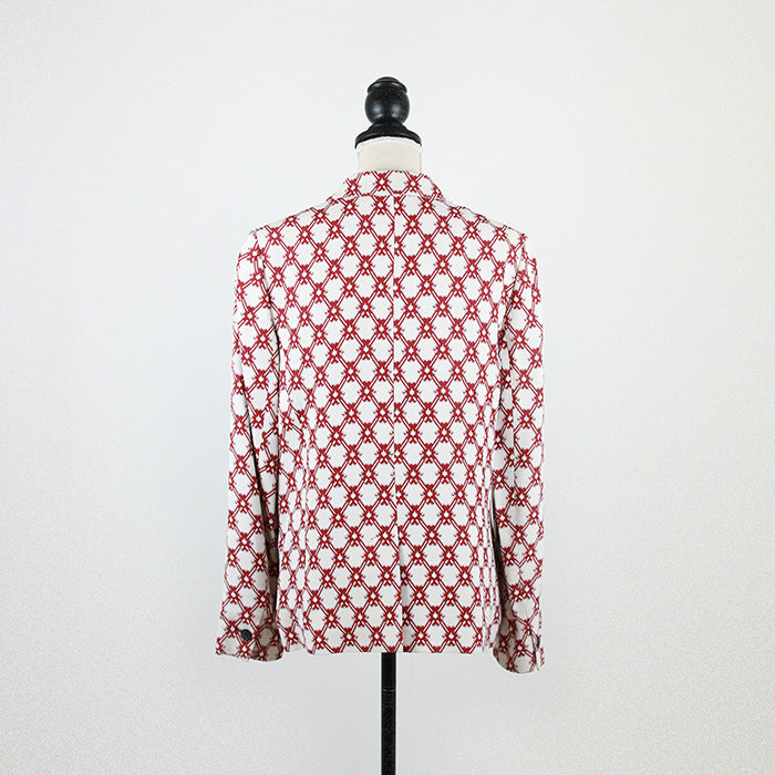 ISABEL MARANT Red Print Jacket