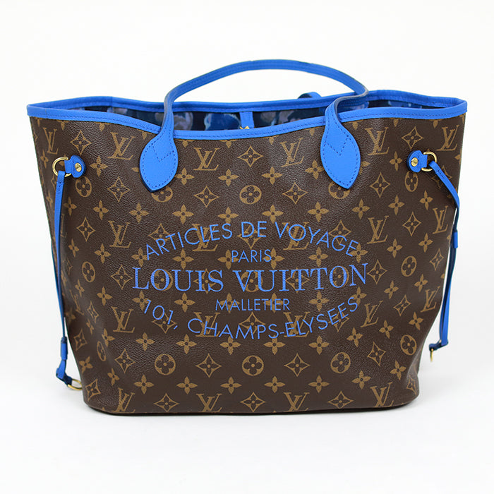 LOUIS VUITTON Never Full Tote / Champs-Elysees Special Edition