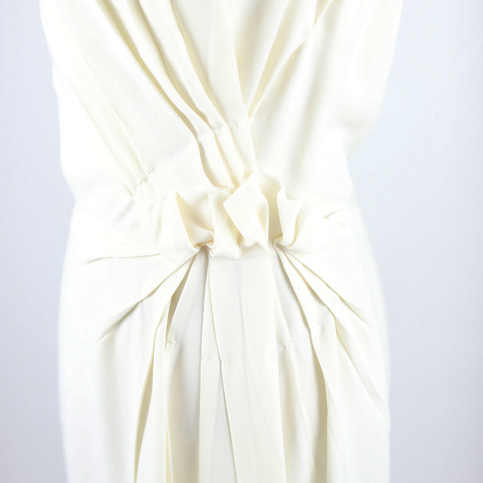 PRADA Draped Bow Dress