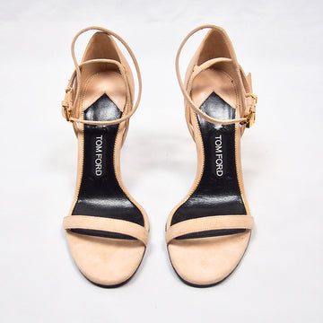 TOM FORD Lock Suede Sandals