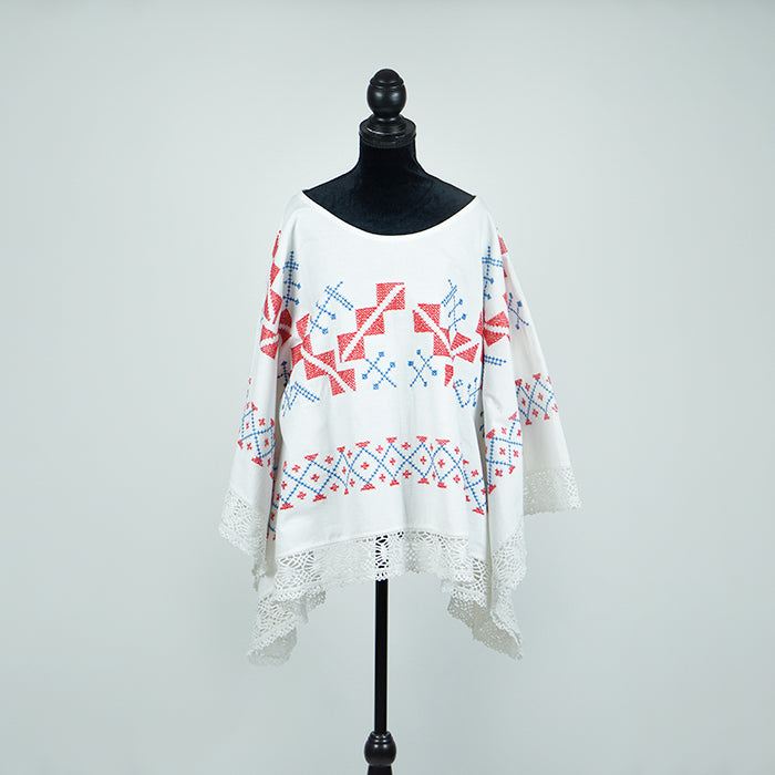 WORLDPEARLSLOVE T-Cloth Tunic No. 11