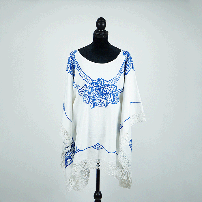 WORLDPEARLSLOVE T-Cloth Tunic No. 4