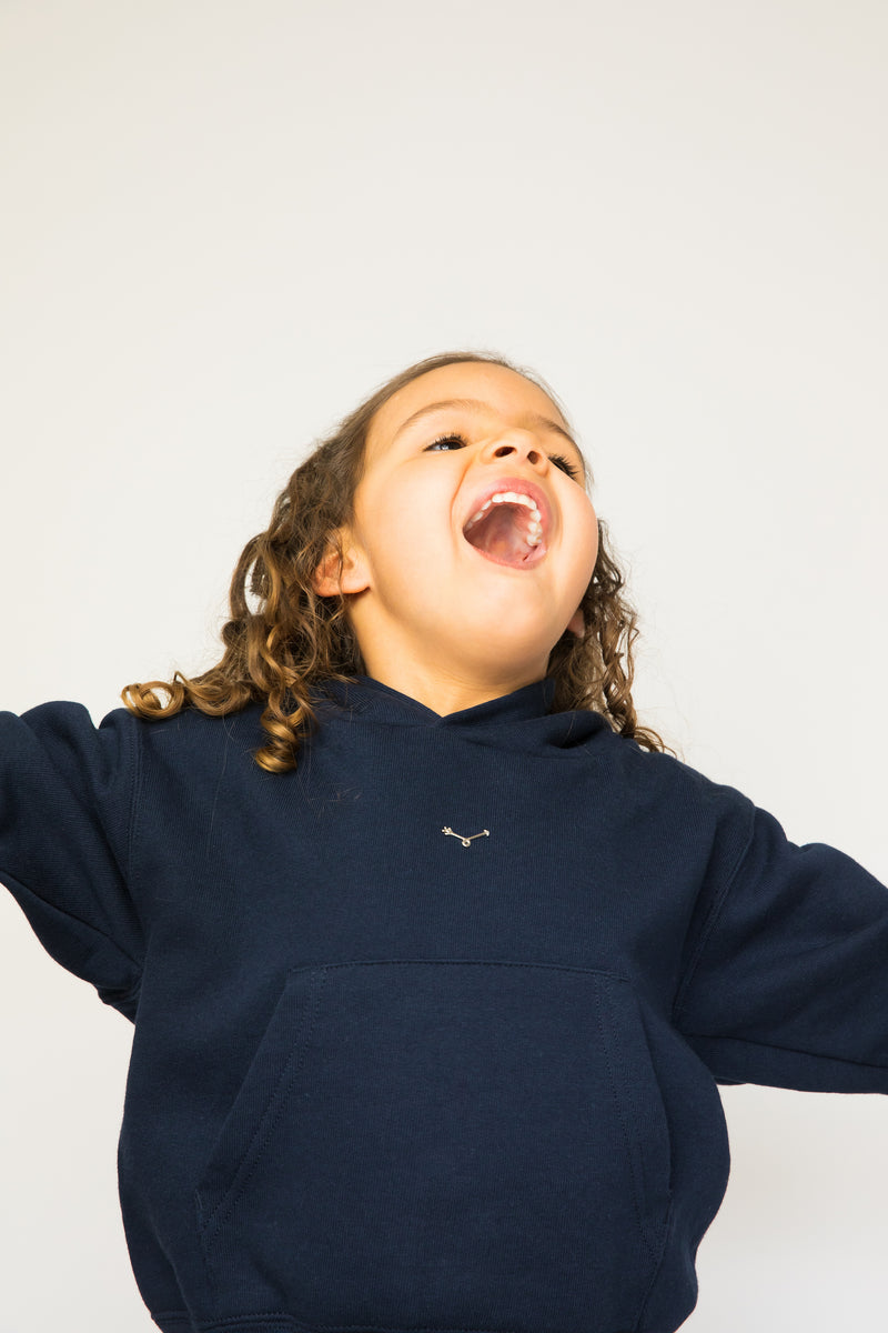 Navy Hoody - Kids