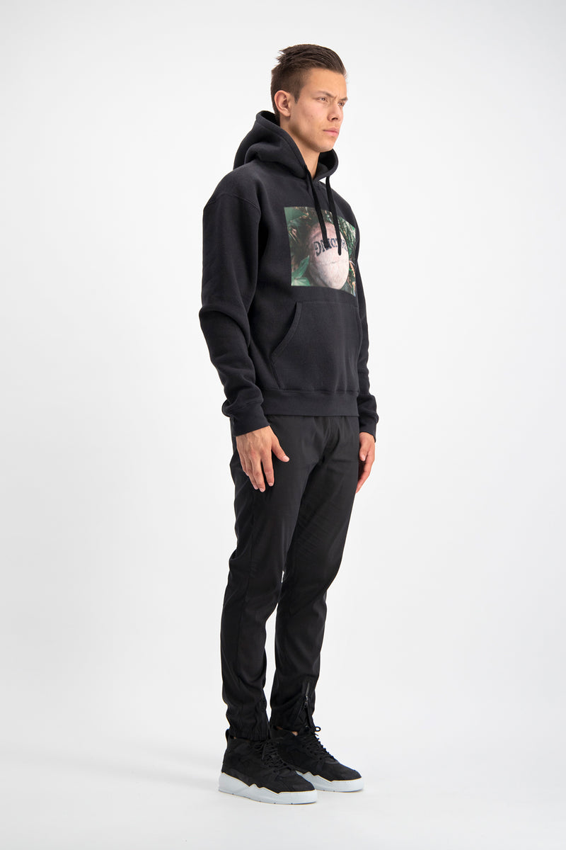 Black Basketball Hoody
