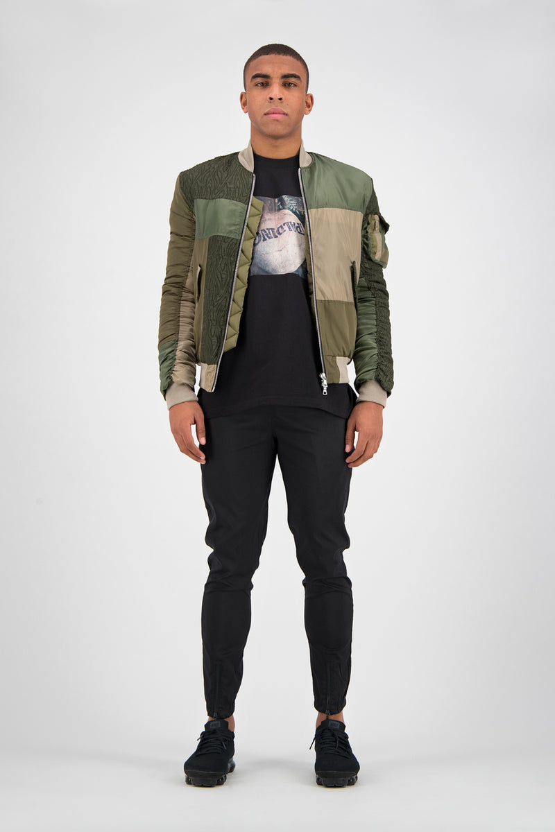 Deconstructed Bomber Jacket