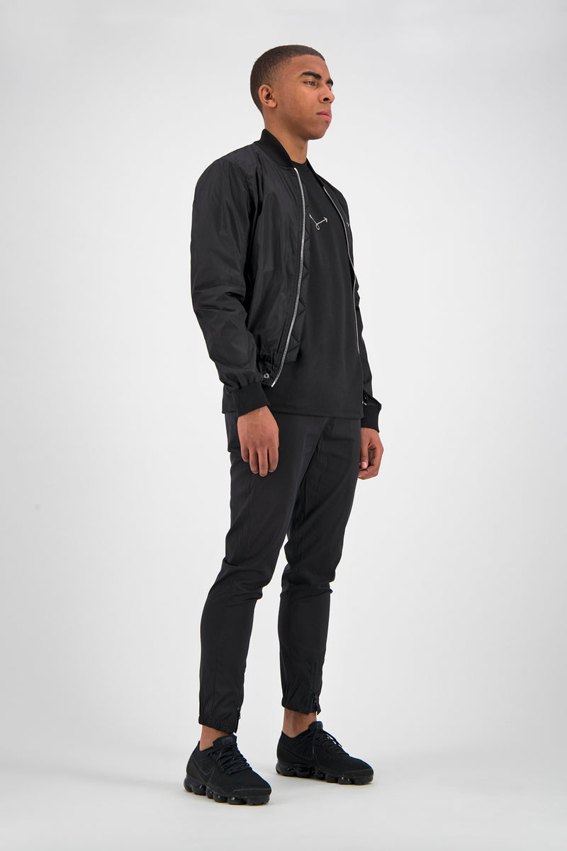 Essential Bomber Jacket - Black