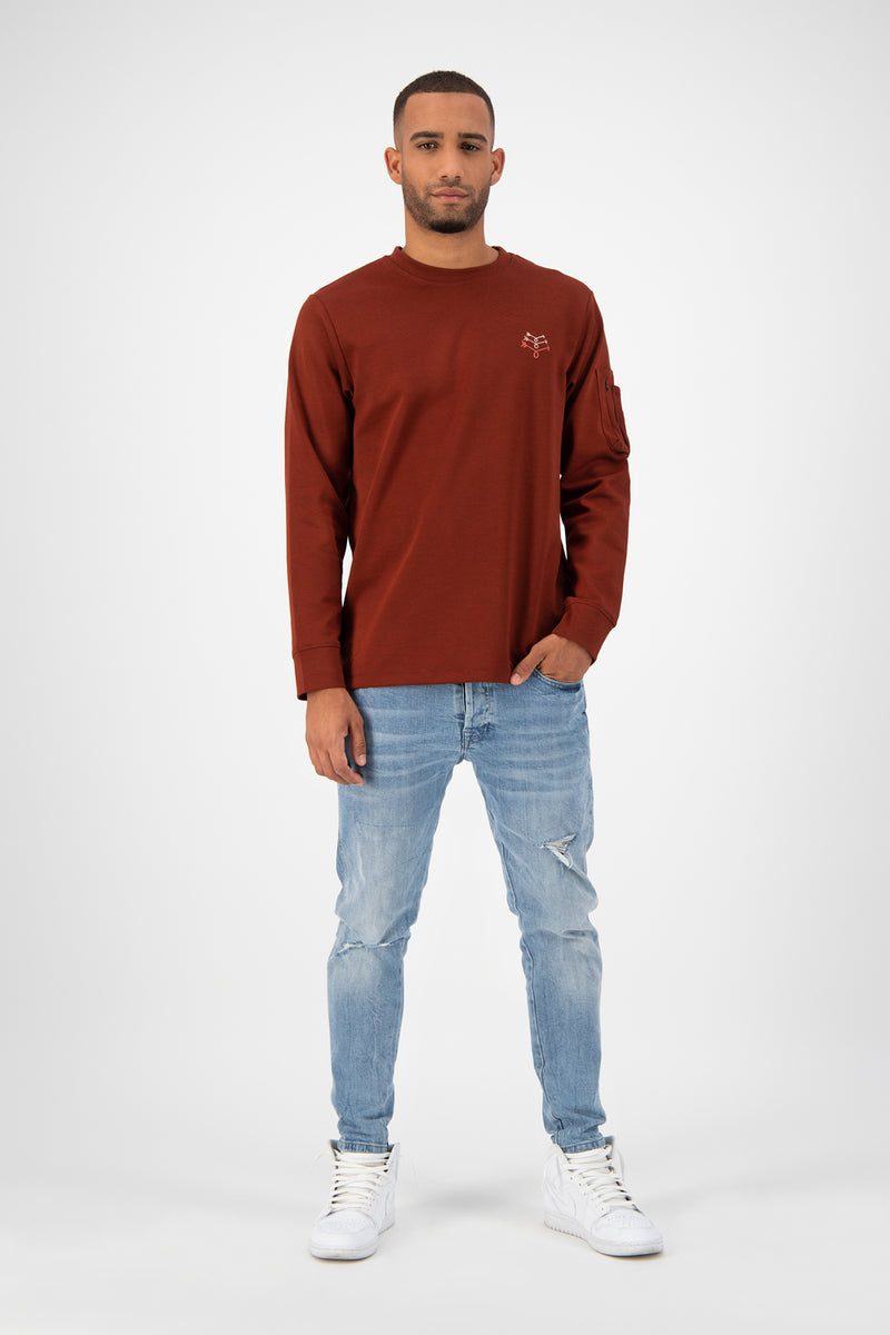 Triple Arrow Longsleeve - Brick